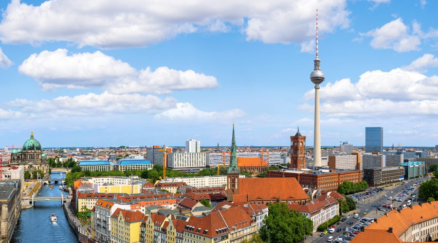 Skyline von Berlin, Büro Laden Berlin Mitte , Immobilienangebote